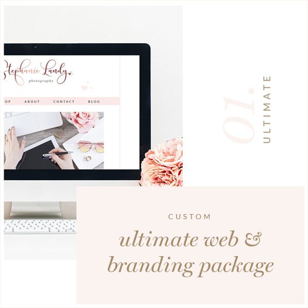 Ultimate Custom Blog Website Logo Package