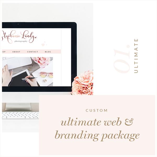 Ultimate Custom Blog Website Logo Package