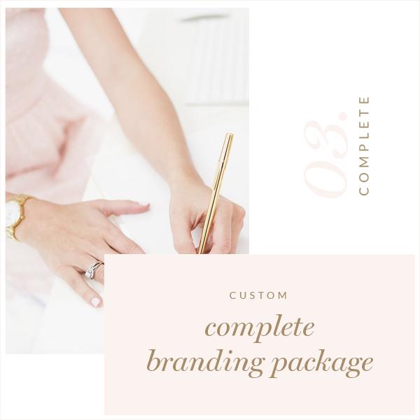 Complete Custom Logo branding Package