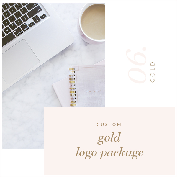 Gold Custom Logo Package