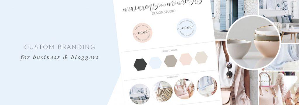 Branding Board, Kate Spade Logo Theme, Black Pink Gold, Salon Spa Nail logo, custom logo design, Photography Logo, Branding kit