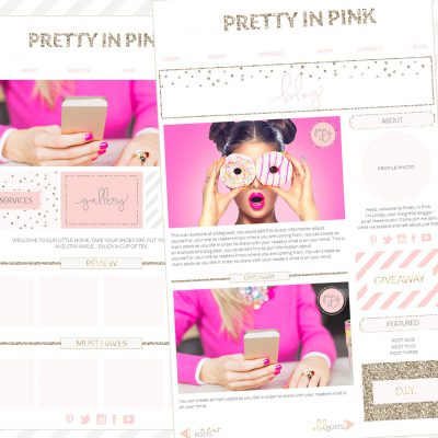 Branding Kit, Photographer Brand, Blogger Wordpress blog template, blogger branding kit, website elements kit, blog elements kit, blog kit, pink gold branding board, pink gold office, Glitter polka dot Branding, Spot Web template