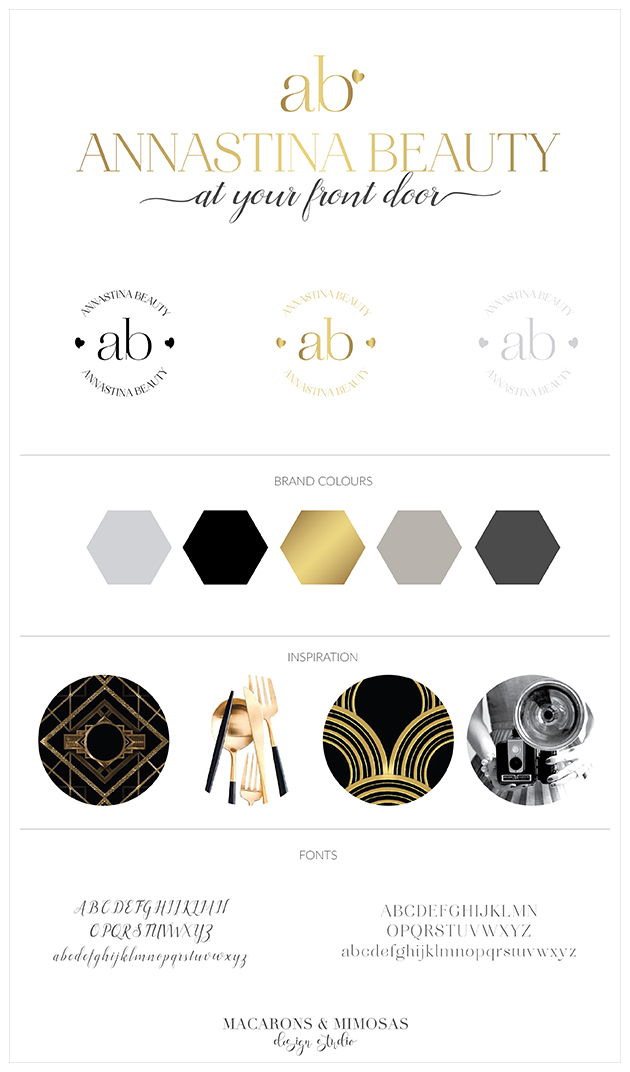 Custom Logo Design, Photography Branding, Photography Branding, Branding Kit, Marketing Brand, Photography Logo Design, Photography Stamp, Branding board Black Gold, Modern Chic Branding Board, Mid Century Modern logo