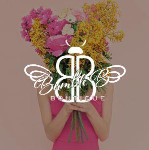 Boutique Logo Design, Shoppe Logo Design, Custom Handwritten Calligraphy Logo