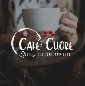 Coffee Tea Logo, Coffee Shop Logo, Cafe Logo,