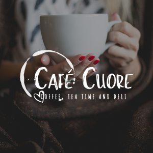 Coffee Tea Logo, Coffee Shop Logo, Cafe Logo,