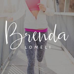Fitness Lifestyle Coach Logo, Script Logo, Handwritten logo design, Fitness Branding Kit, Custom Fitness Logo