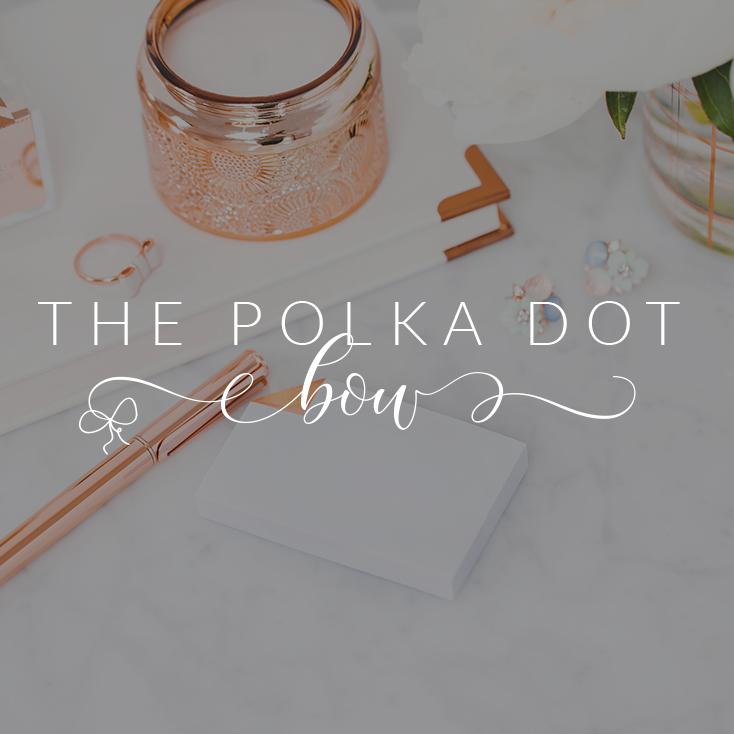 The Polka Dot Bow