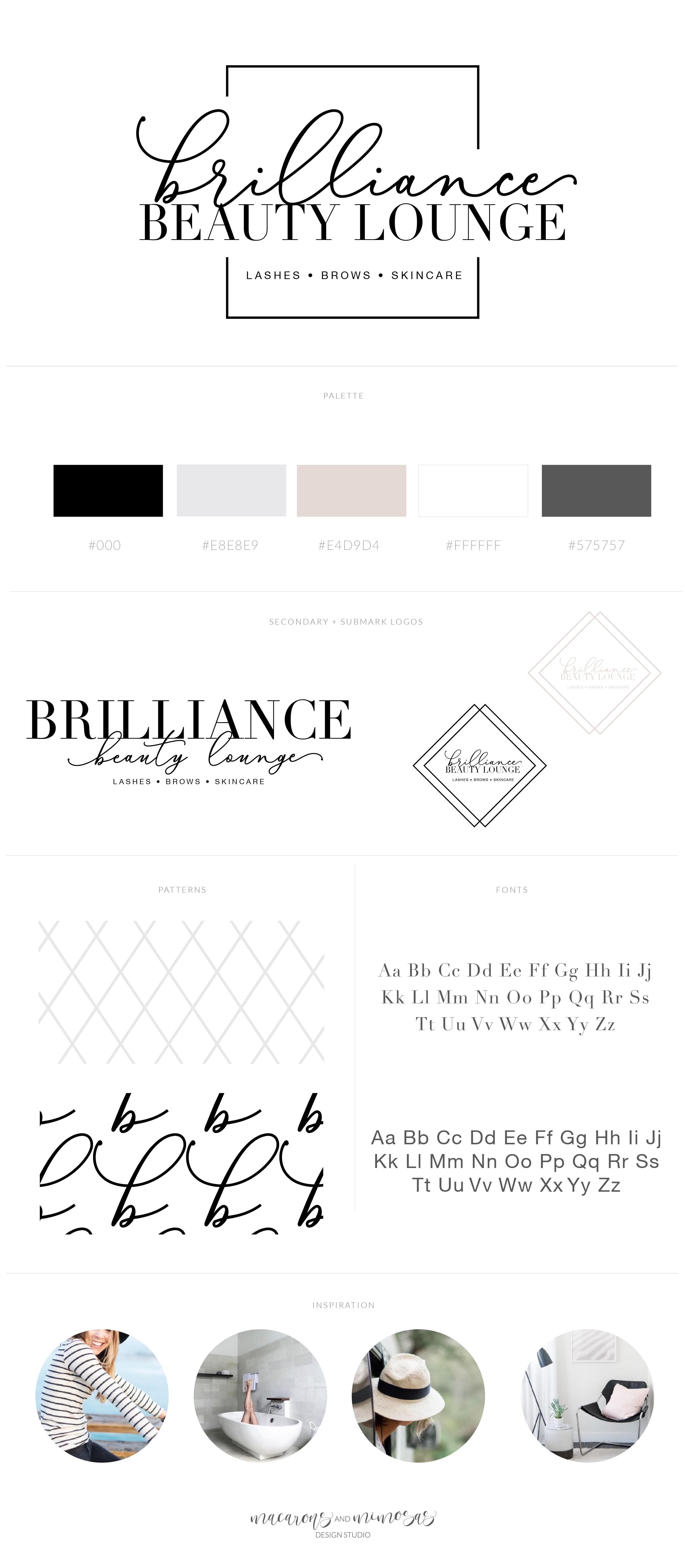 Exclusive One of a Kind Logo Logo and Watermark Makeup Artist Beauty Logo