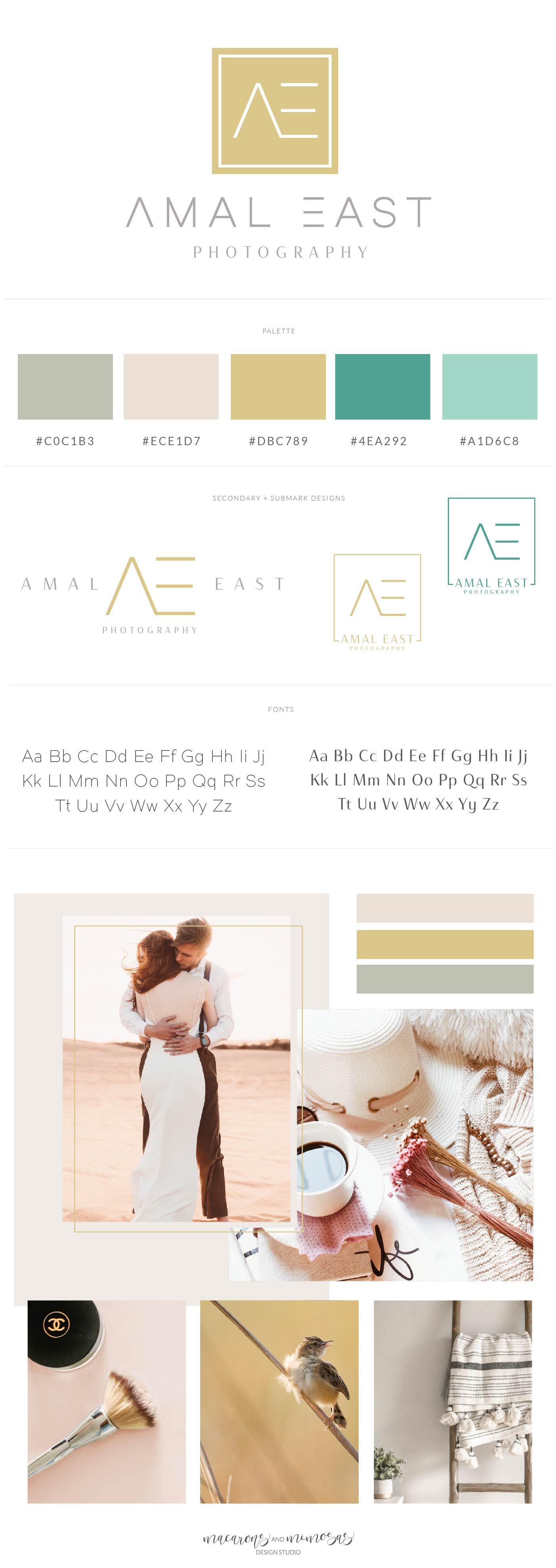 Modern minimal logo for photographer. Photography logo package, Premade Initials logo, Branding Kit, Blog logo design, Watermark, Stamp, Custom business package, Logo package.