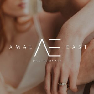 Amal, Photography logo package, Premade Initials logo, Branding Kit, Blog logo design, Watermark, Stamp, Custom business package, Logo package.