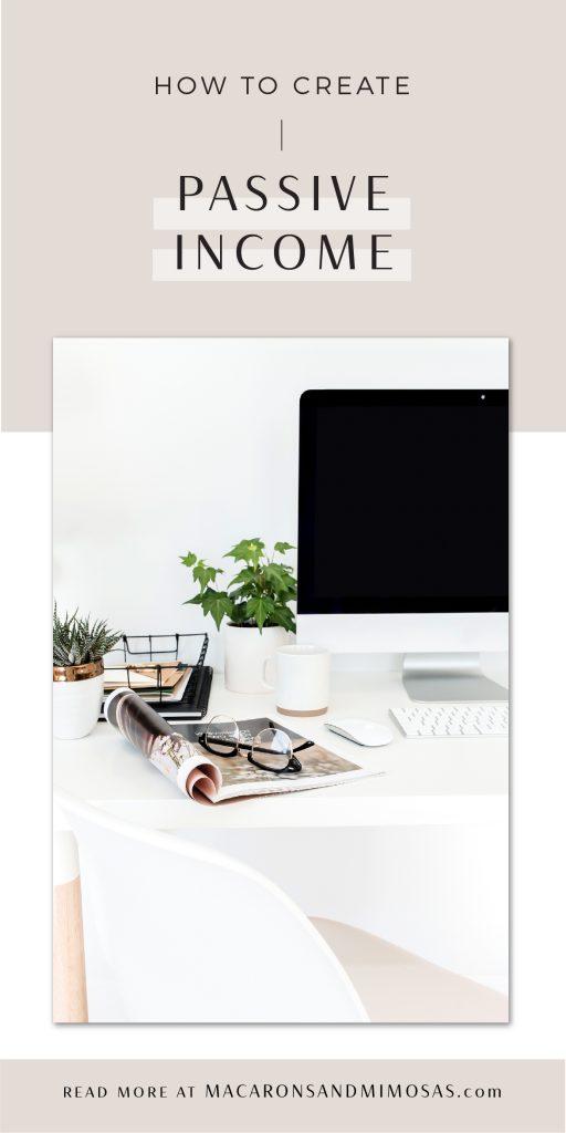 passive income, make money blogging, affiliate marketing, ebooks how to, selling ecourses