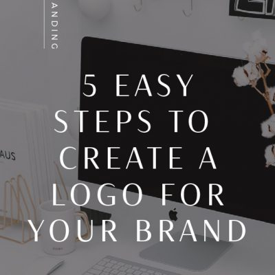 5 Steps to Create a Brand Logo