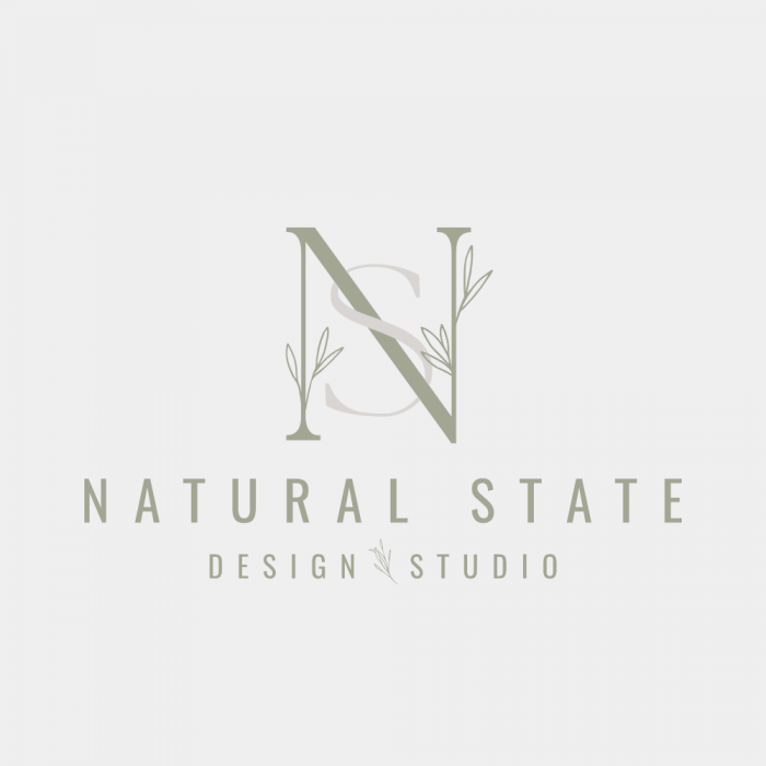 premade logo design, floral logo design